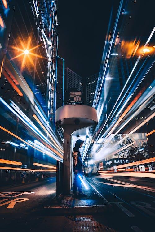 Безкоштовне стокове фото на тему «Вулиця, Гонконг, довга експозиція»