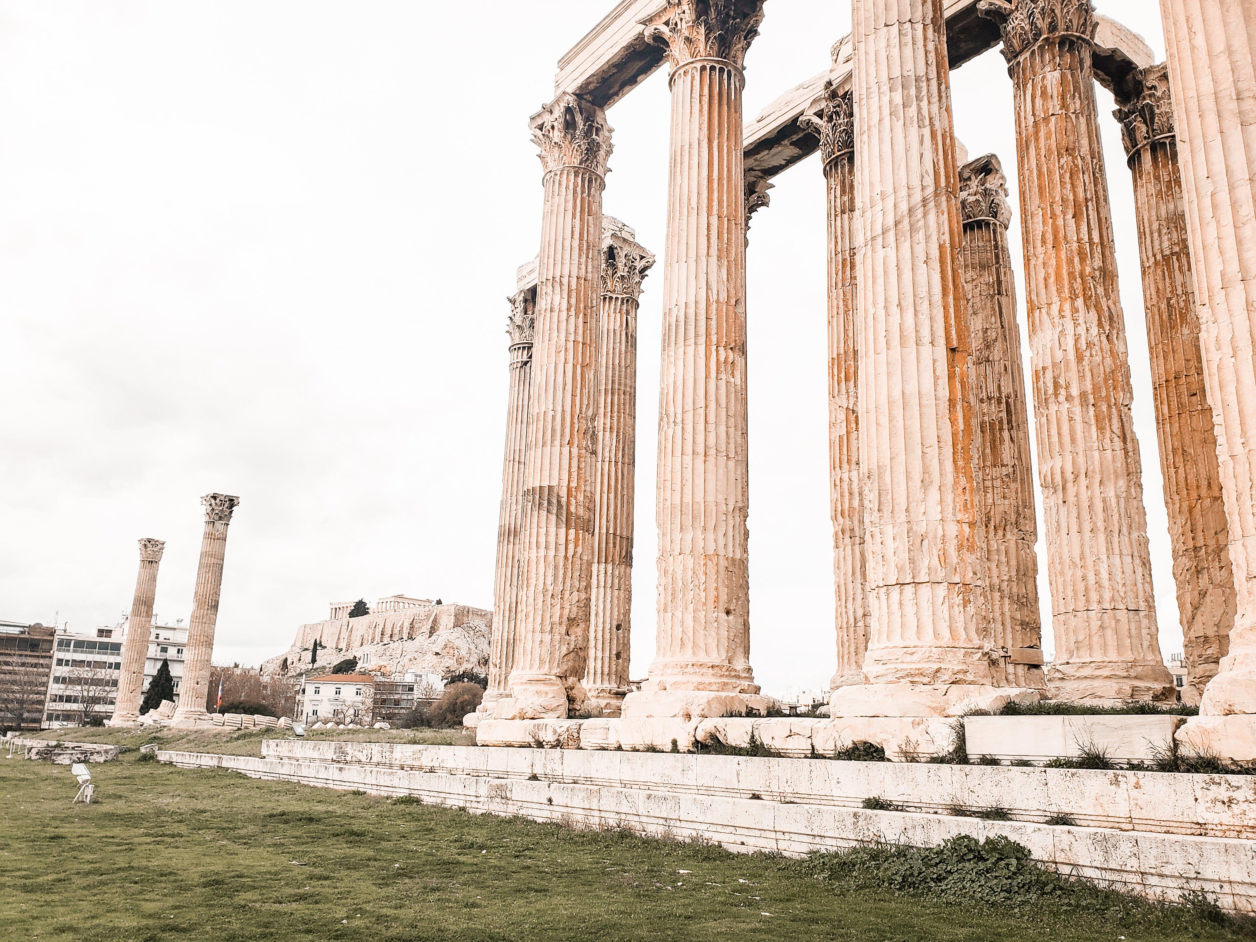 Základová fotografie zdarma na téma akropole, architektura, Atény, chrám atiny