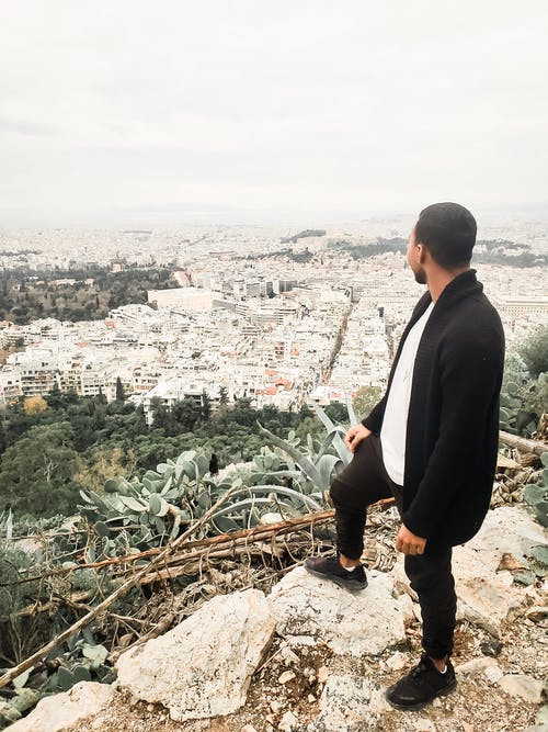 Free stock photo of athens, black, blogger, boy