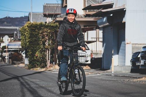 Fotobanka sbezplatnými fotkami na tému bicykel, cesta, chodník, človek