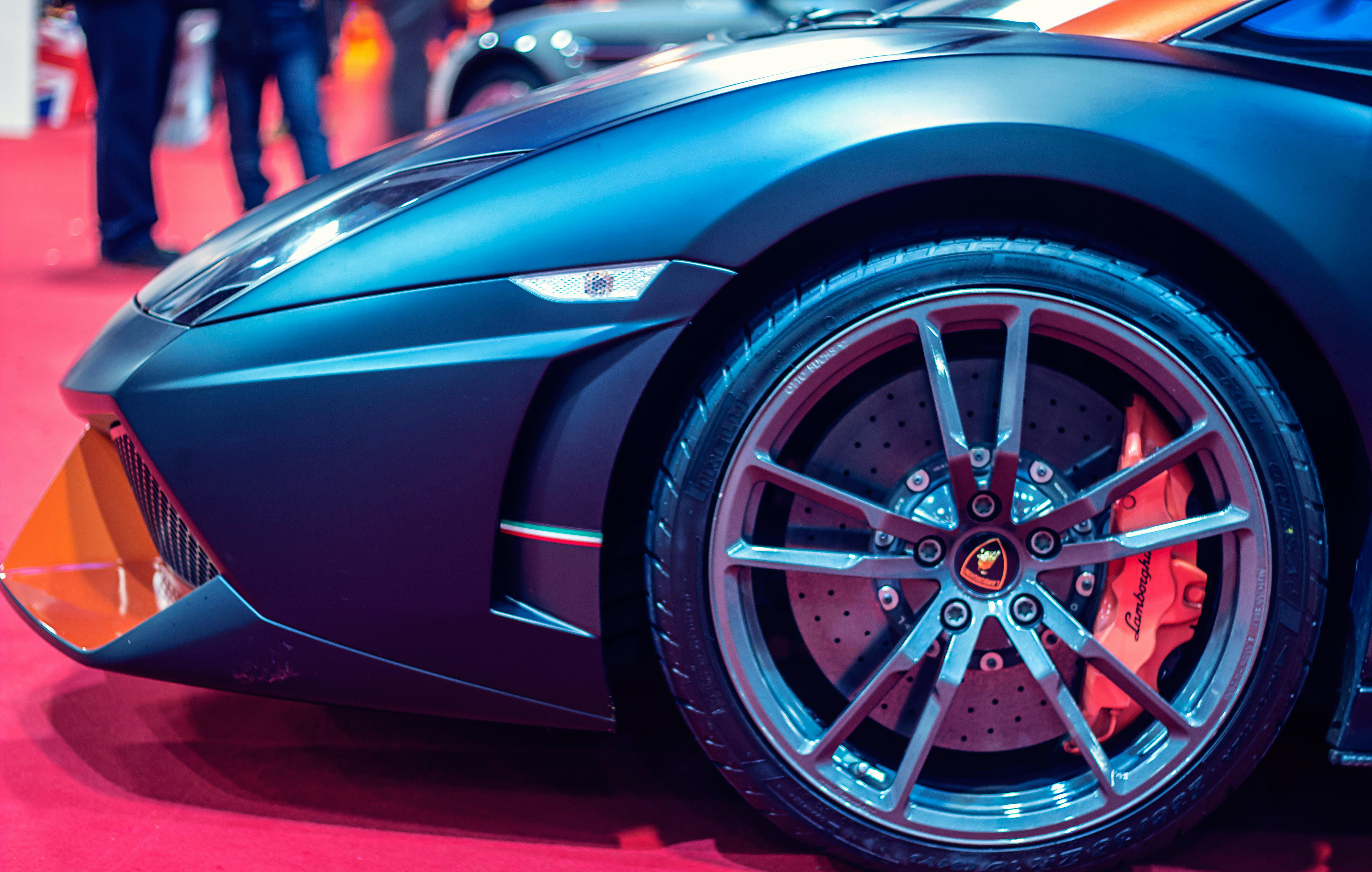 Free stock photo of sports car, wheel, Lamborghini