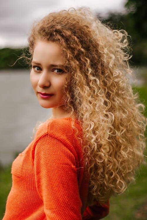 Photos gratuites de beau, blond, cheveu, jean