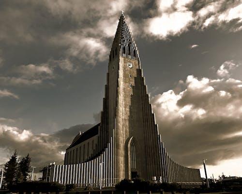 Fotos de stock gratuitas de cristianismo, hermoso edificio, Iglesia, Islandia