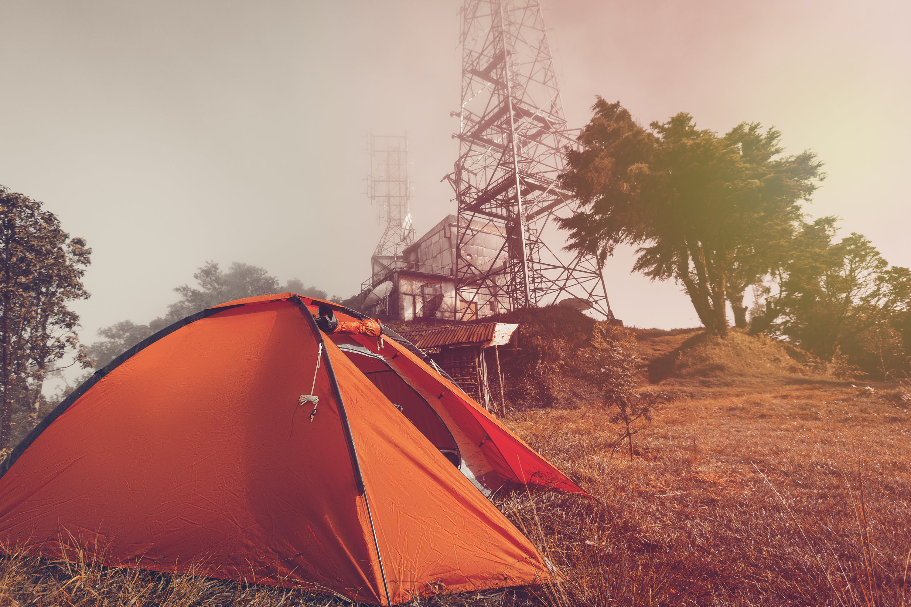 Free stock photo of camp, camping, landsape, mountain