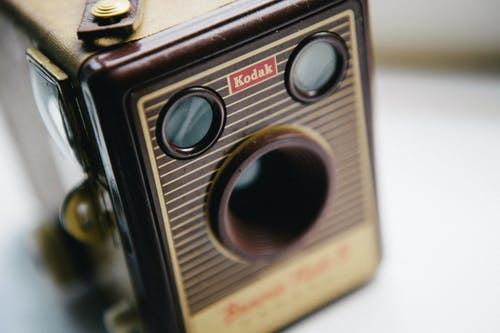 Vintage Black Kodak Camera
