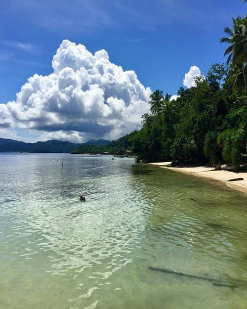 #indonesia #jakarta #scuba #diving #ocean #clouds 的 免費圖庫相片