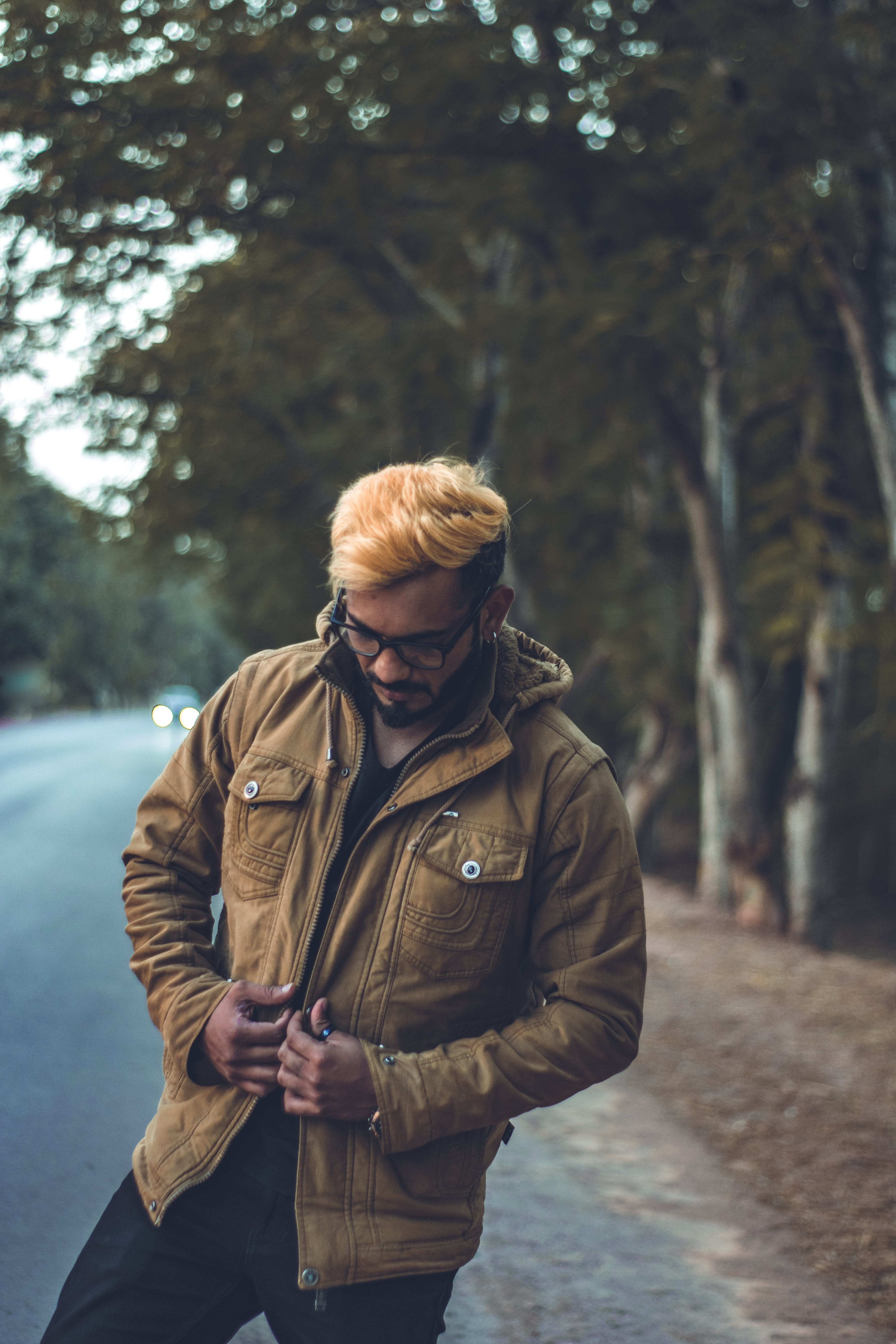 Free stock photo of winter jacket
