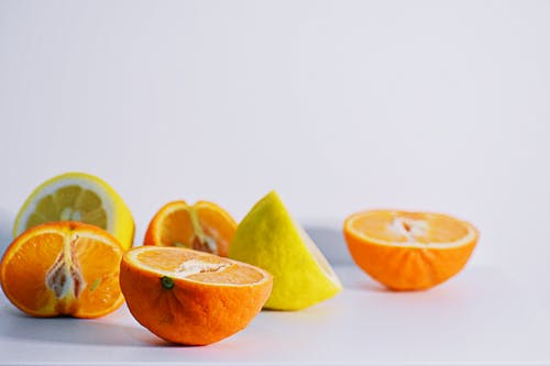 Sliced Oranges And Lemons