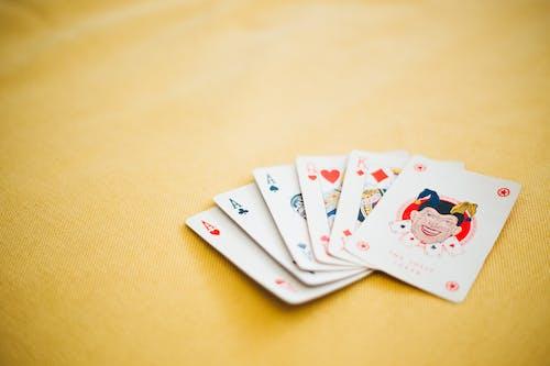 Darmowe zdjęcie z galerii z as, dama, diament, gra w karty