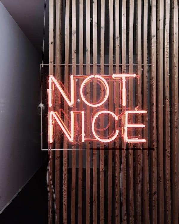 Led Signage On Wall