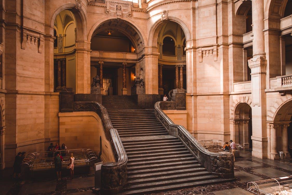 các bước, các tòa nhà, cầu thang