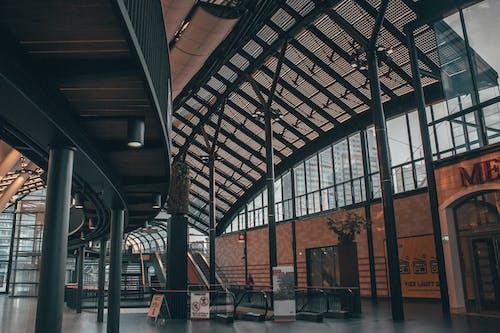 インドア, エスカレーター, ターミナル, モダンの無料の写真素材