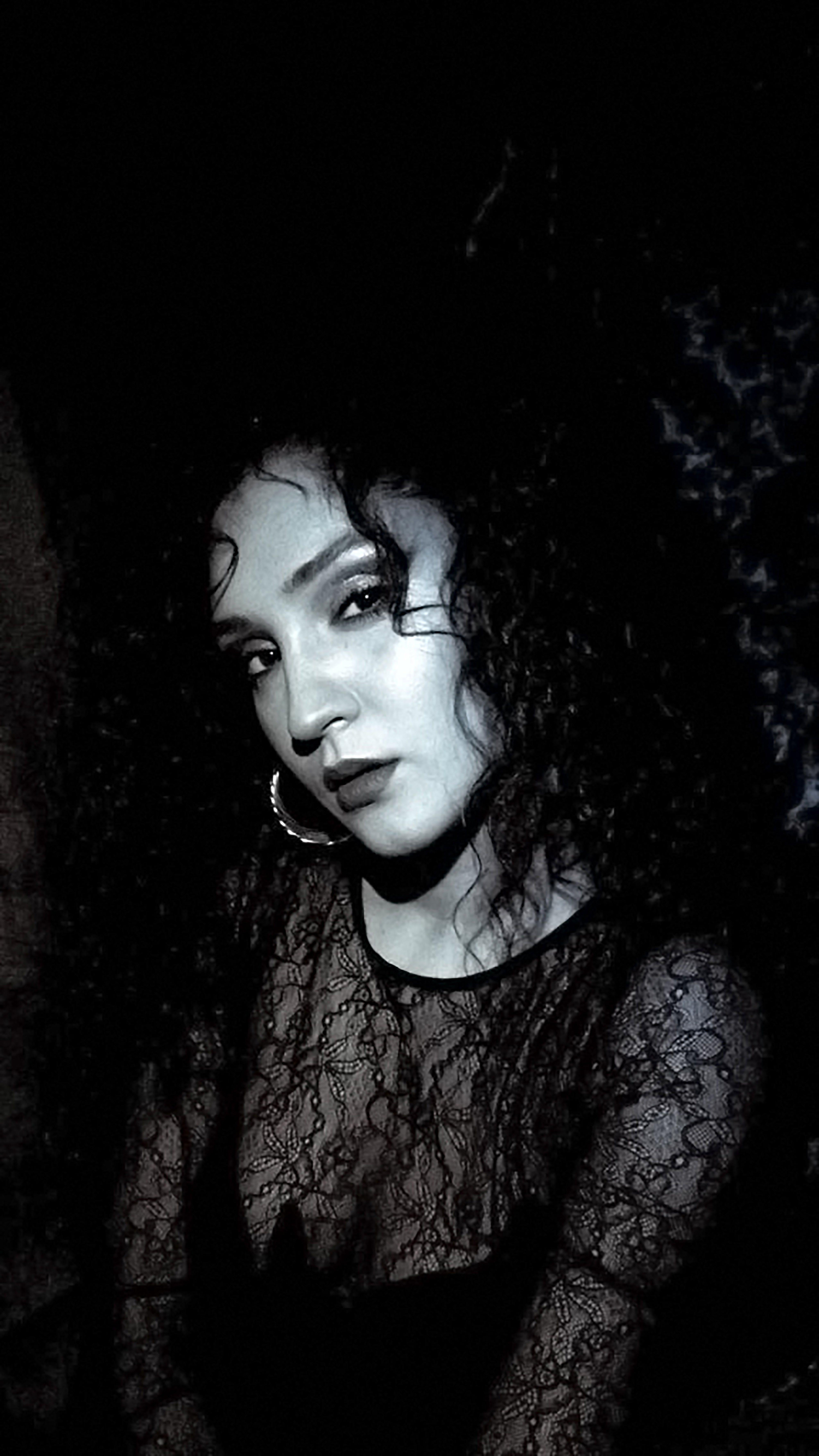 Free stock photo of black, black and white, dark, fashion model