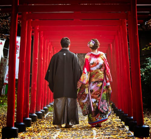Foto stok gratis #japan #wedding #takayama #red #autumn