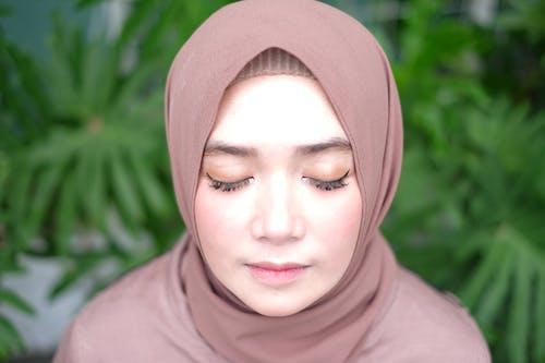 Gratis lagerfoto af #hijab #girl #makeup #face