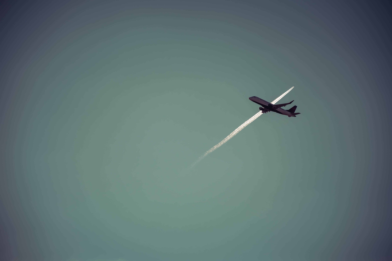 Free stock photo of aeroplanes, contrails, plane