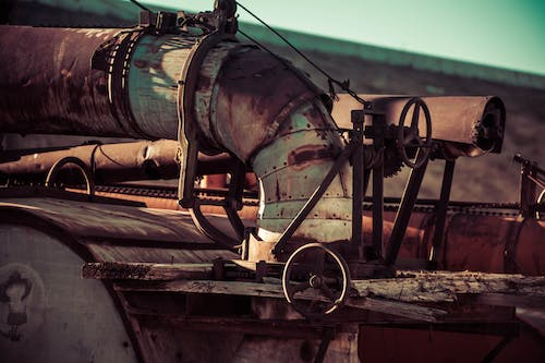 Free stock photo of antique, machinery