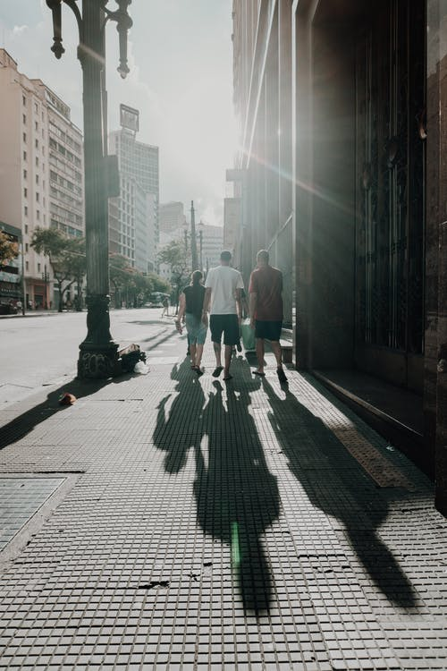 Free stock photo of people, Sombras, street