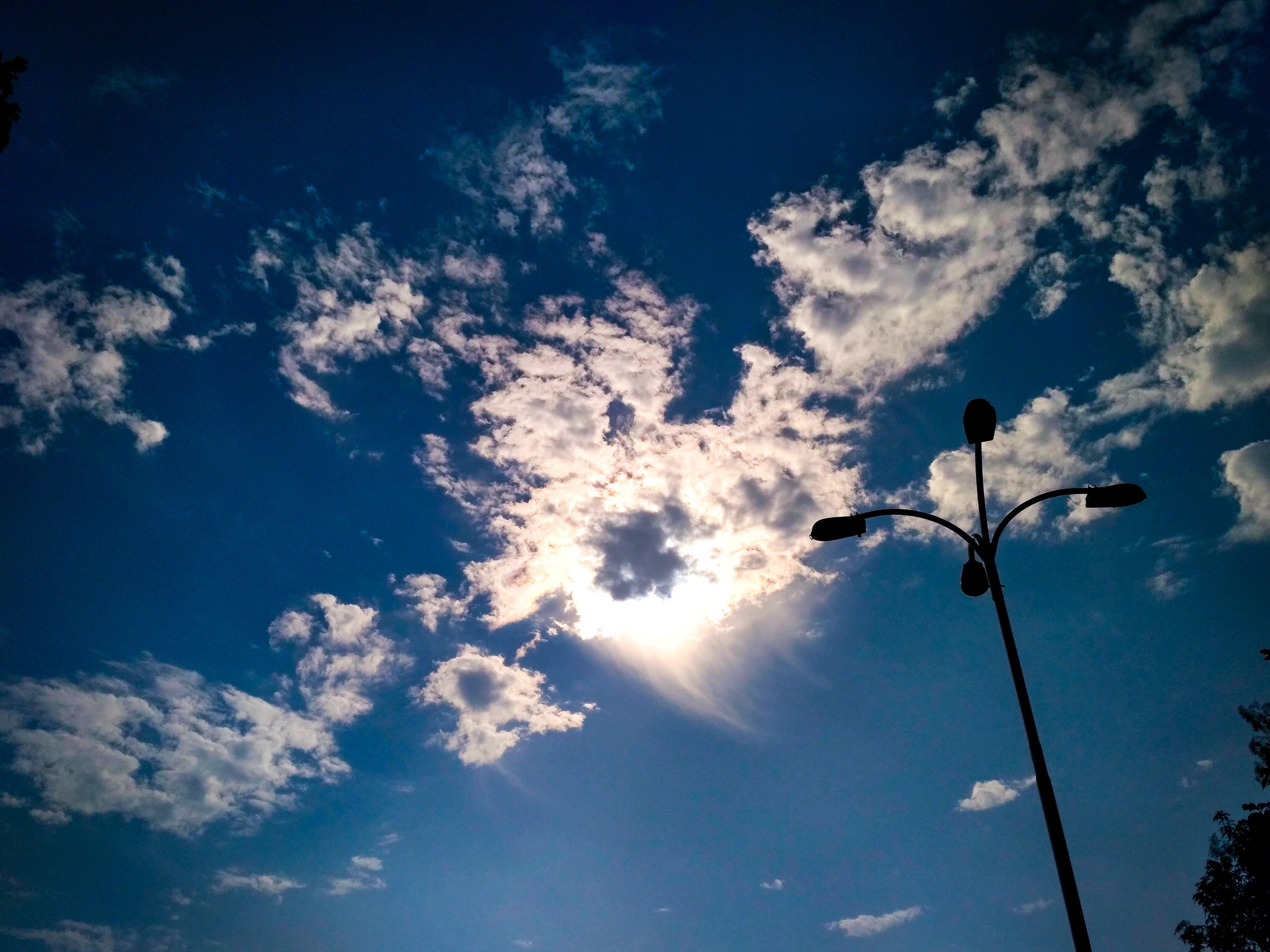 가로등, 구름, 구름 하늘, 자연의 무료 스톡 사진