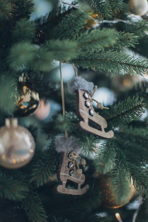 Fotos de stock gratuitas de adornos, árbol de Navidad, colgando, Navidad