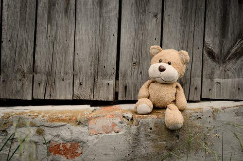 Foto stok gratis boneka beruang, kayu, mainan, mainan menyenangkan