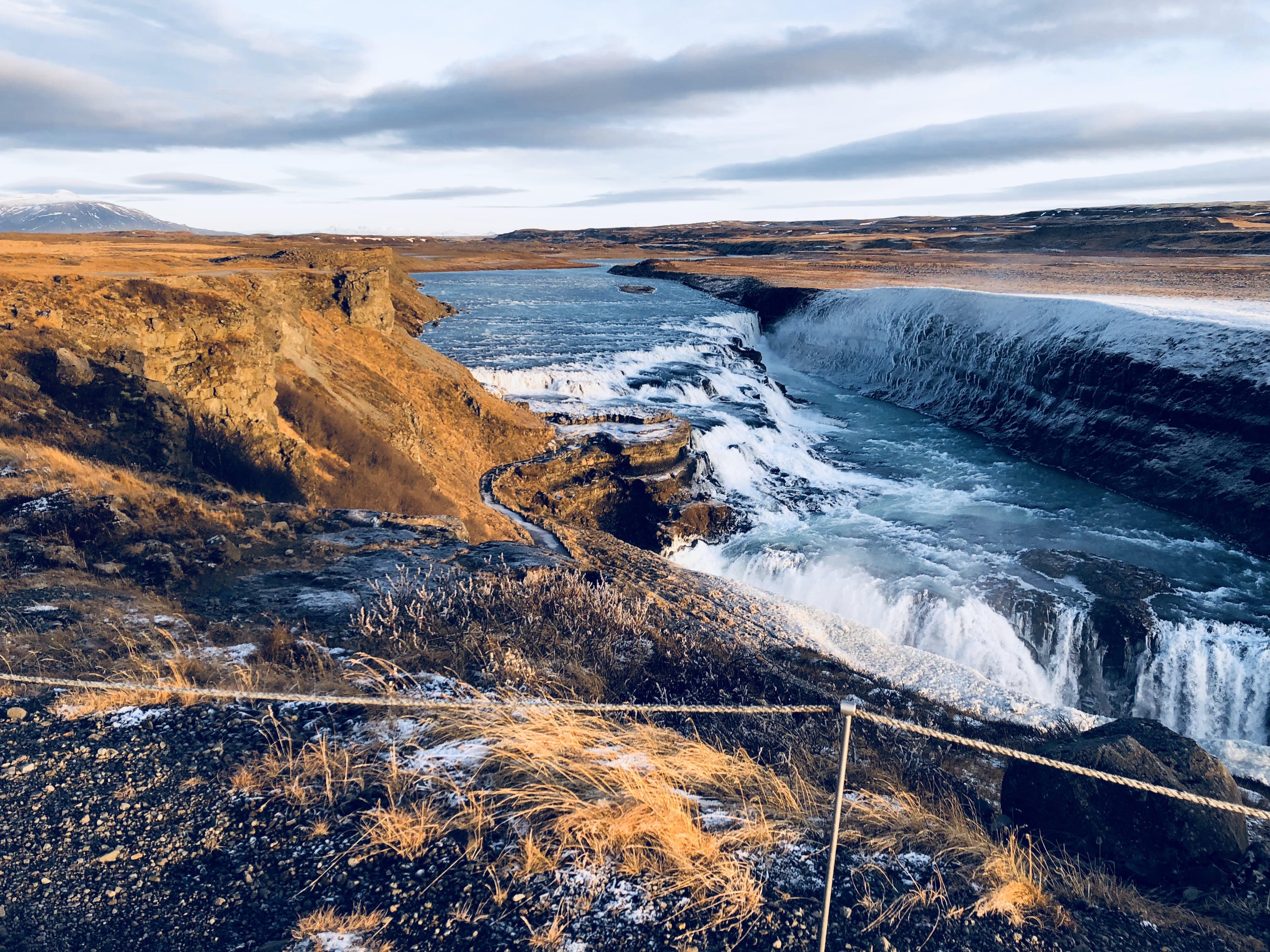 Free stock photo of blue water, waterfalls