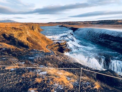 Fotos de stock gratuitas de agua Azul, cascadas