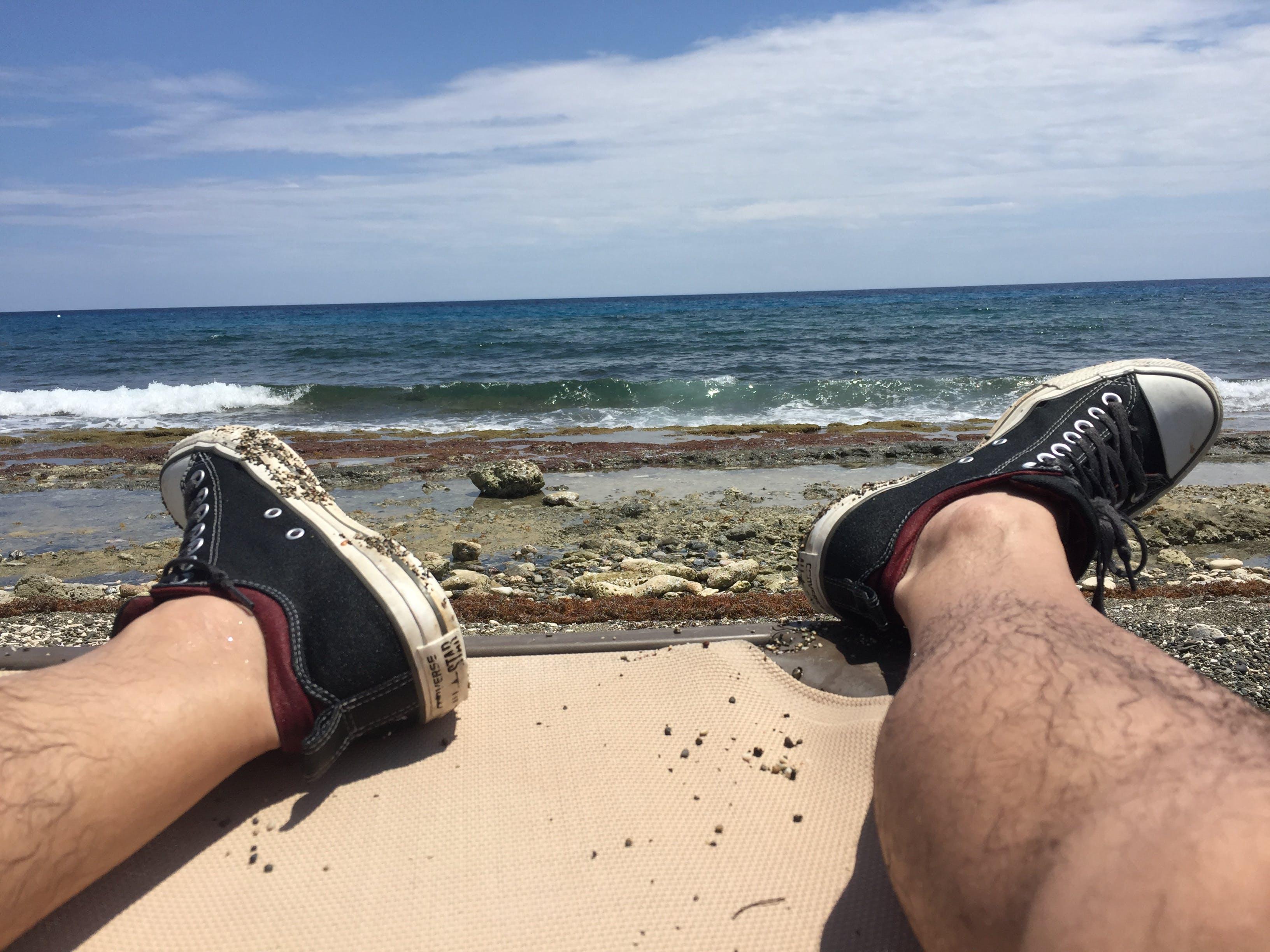 Free stock photo of beach, caribbean, Caribbean Ocean, chuck taylor