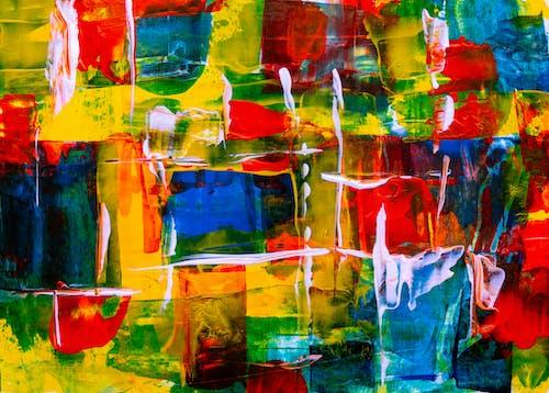 Základová fotografie zdarma na téma abstraktní, abstraktní expresionismus, abstraktní obraz, akrylová malba