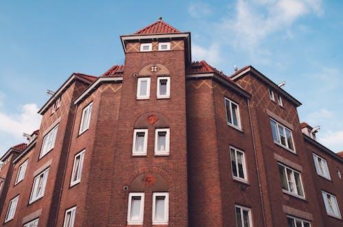 Kostenloses Stock Foto zu amsterdam, architektur, aufnahme von unten, europa