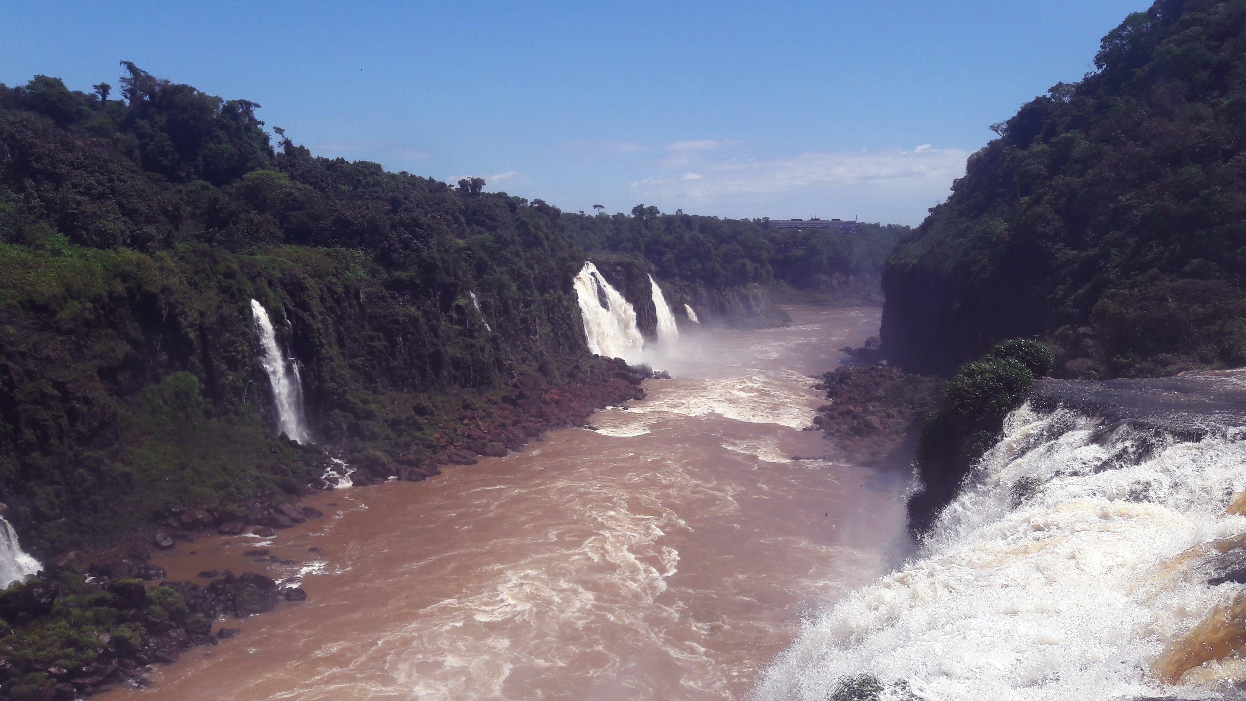 Free stock photo of falls, waterfall
