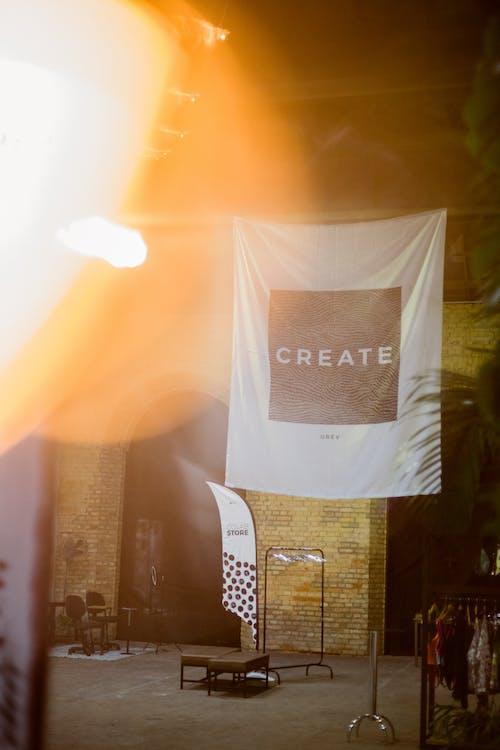 Foto stok gratis batu bata, cahaya, Desain, dinding
