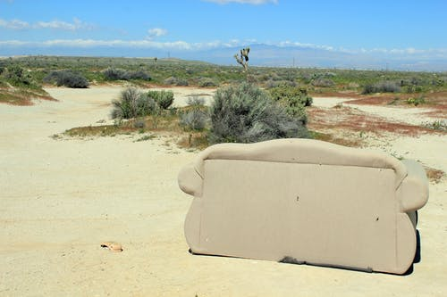 Free stock photo of antelope valley, couch, desert