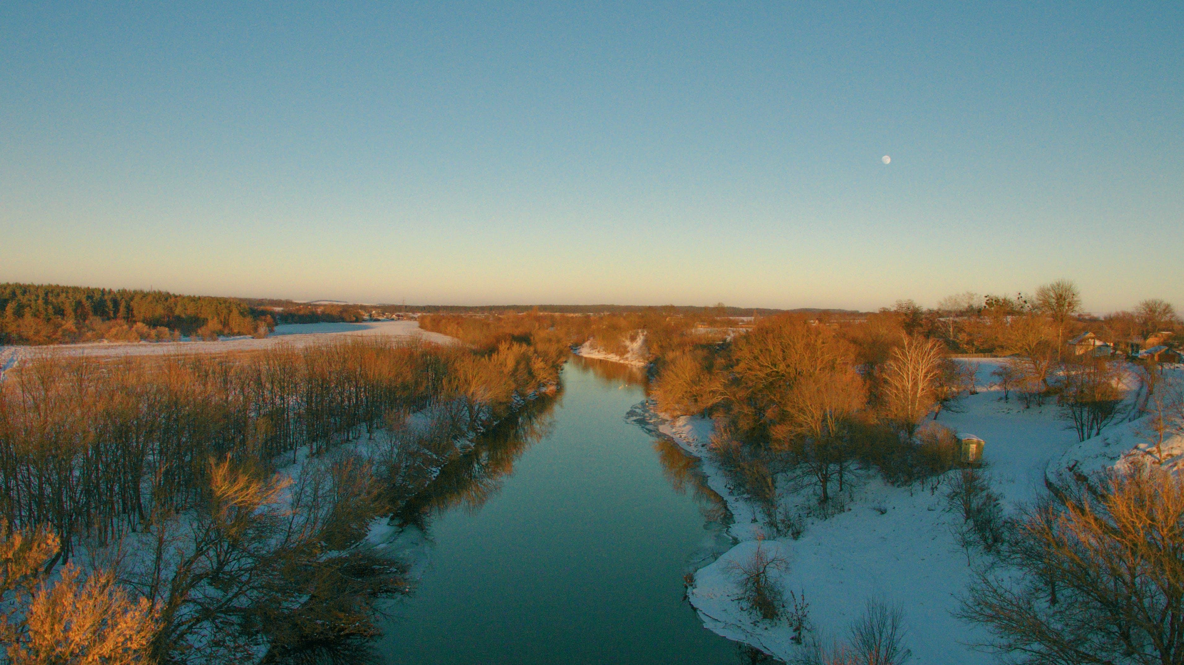 Free stock photo of beautiful, beauty in nature, blue, bridge