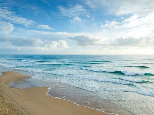 คลังภาพถ่ายฟรี ของ กลางแจ้ง, การเปิดรับแสงนาน, งดงาม, ชายทะเล
