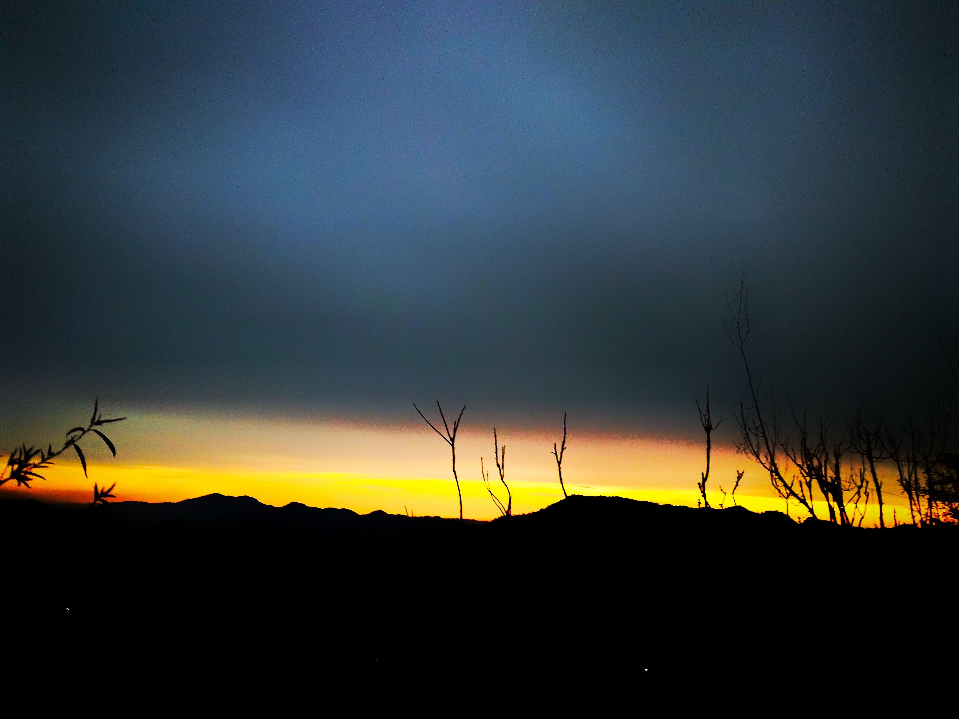 Photos gratuites de beauté dans la nature, coucher de soleil, fond de nature, hils
