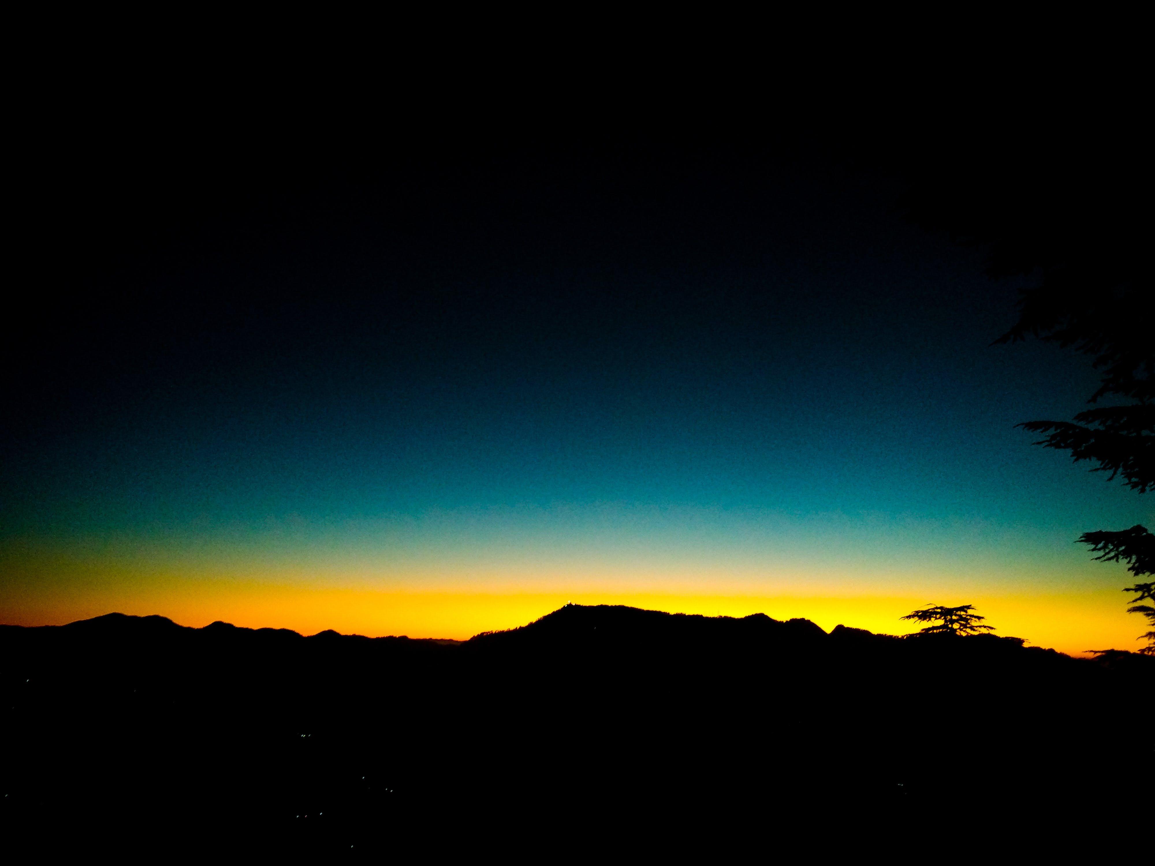 Photos gratuites de beauté dans la nature, coucher de soleil, flanc de coteau, fond de nature