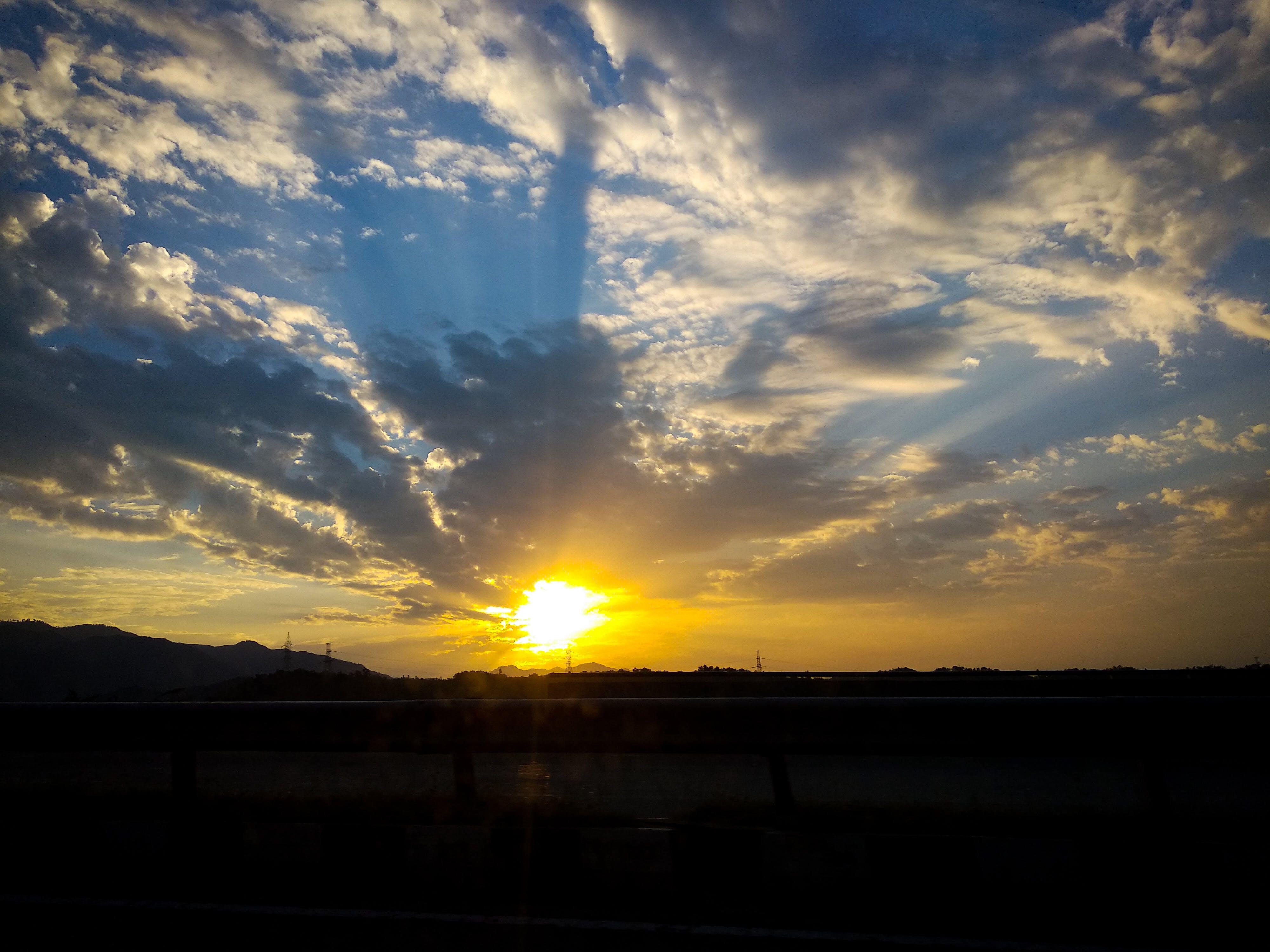 Photos gratuites de beauté dans la nature, fond de nature, lever de soleil, photo de nature
