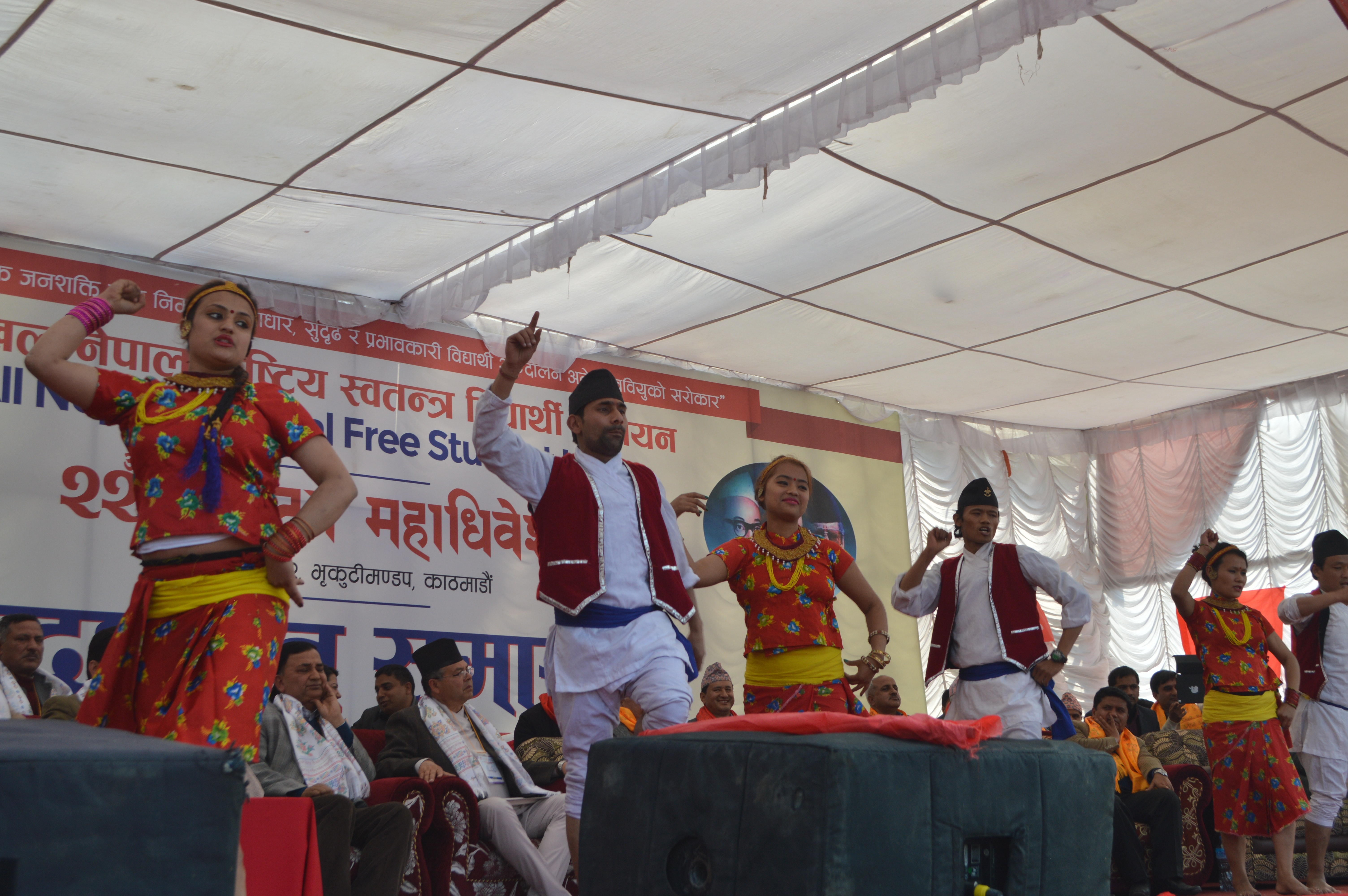 Free stock photo of Annfsu Nepal, Cultural dance, festival dance