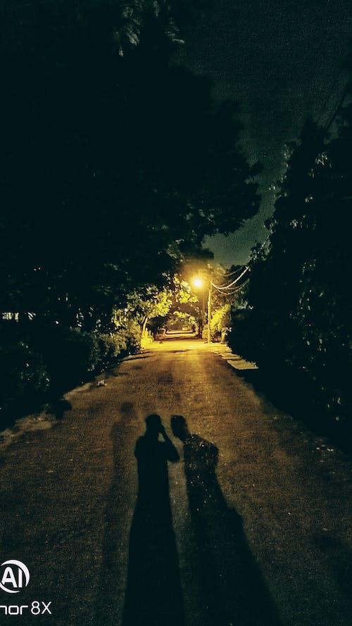 Gratis arkivbilde med natt tur, nattlys