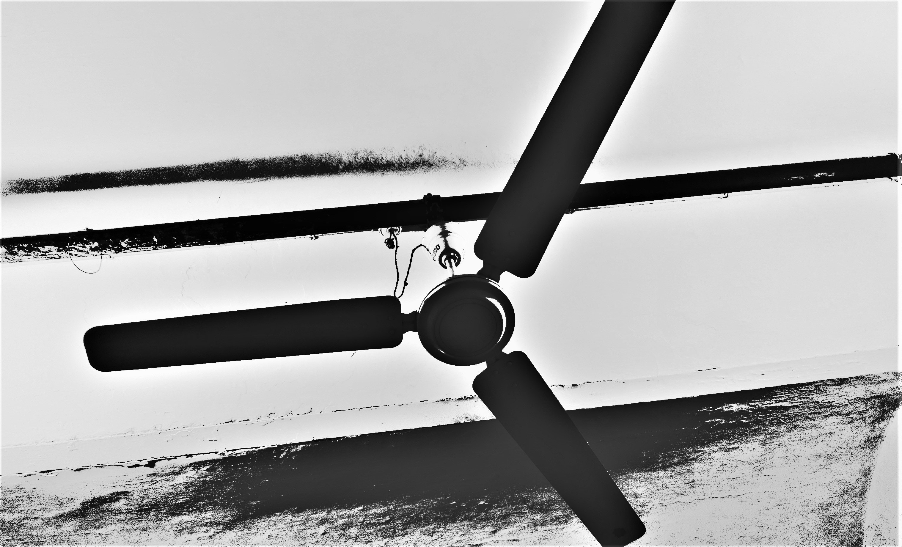 Free stock photo of black and white, ceiling fan, fan