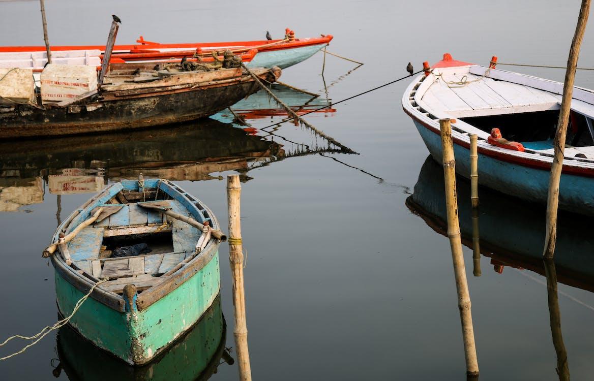 banaras, boat, boat deck