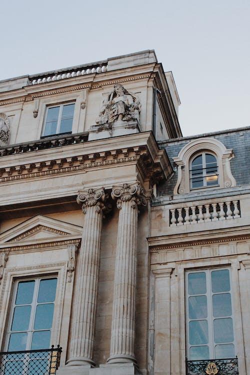 Ingyenes stockfotó ablakok, ég, építészet, épület témában