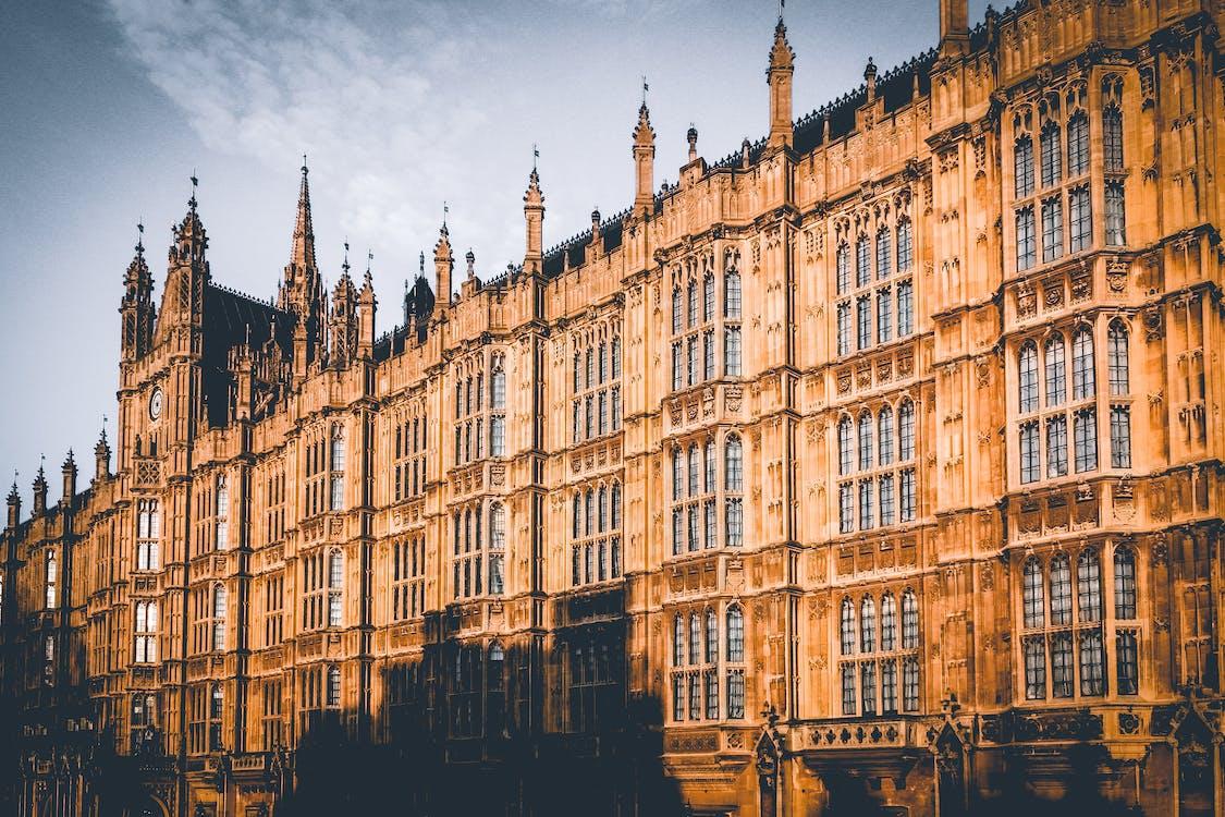 arkitektur, bakgrund, brittisk