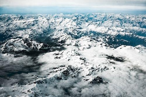 Ingyenes stockfotó Alpok, befagyott, csúcs, ember nélküli témában