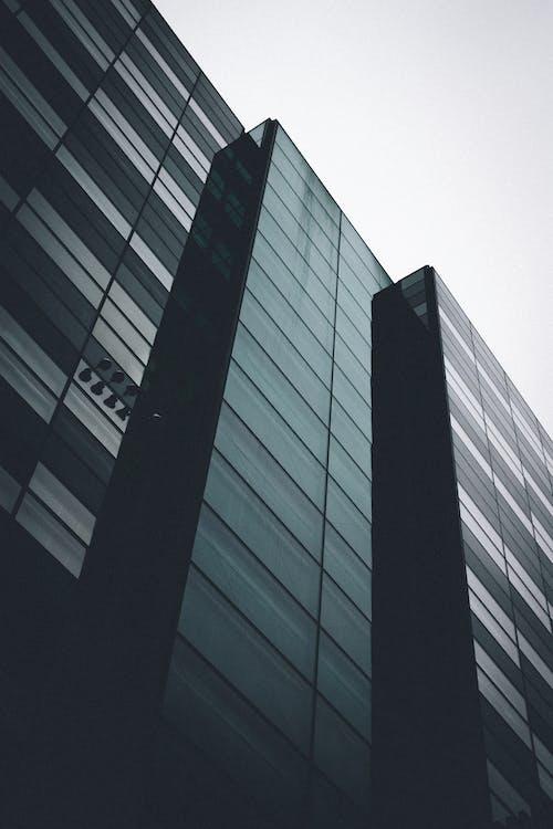 Black Building Under White Sky
