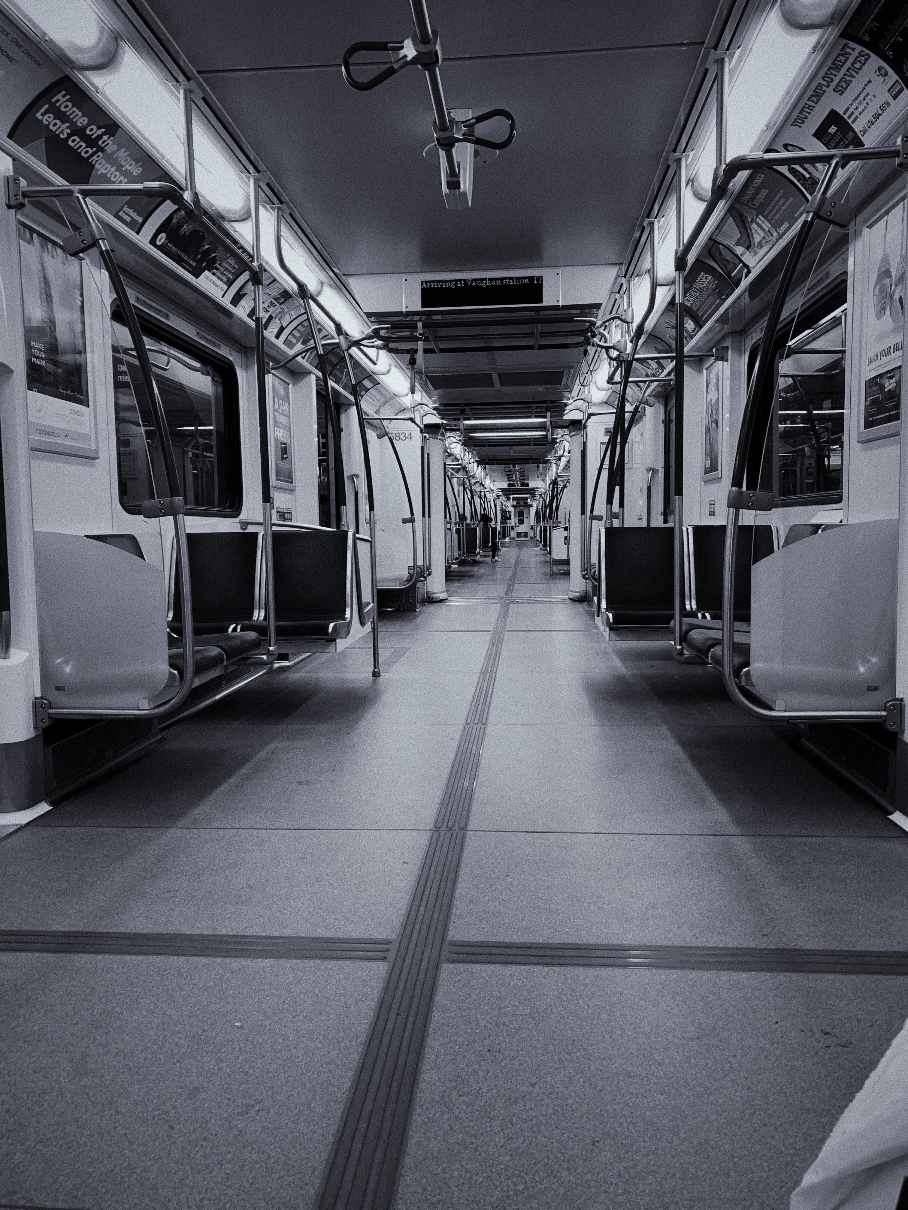 Free stock photo of city life, lonely, public transportation