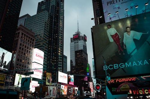 Bcbg Billboard Near High-rise Building