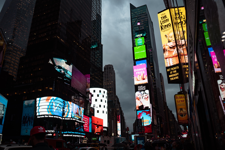 Ingyenes stockfotó belváros, bevásárlás, boltok, Broadway témában