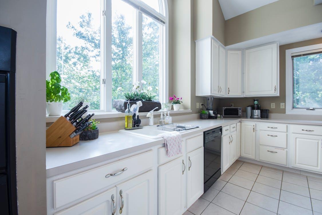 acoperiș, aspect, bucătărie